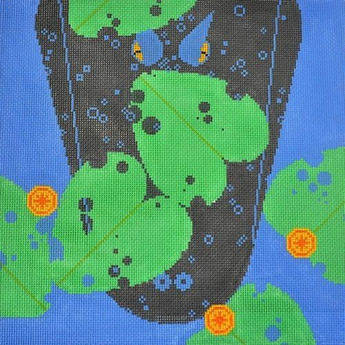 Gatorscape Painted Canvas Charley Harper