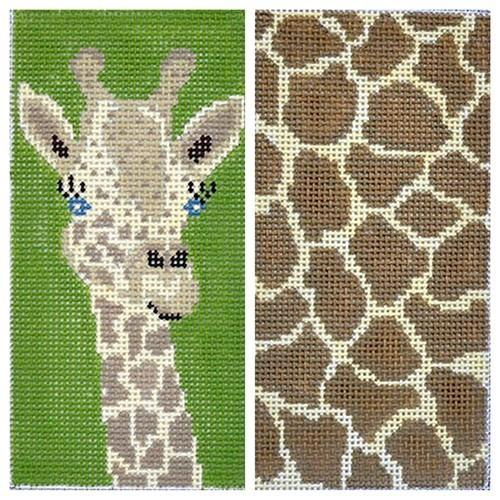 Giraffe Eyeglasses Case Painted Canvas J. Child Designs