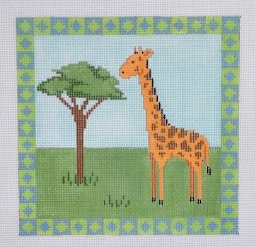 Giraffe Painted Canvas Susan Roberts Needlepoint Designs, Inc.