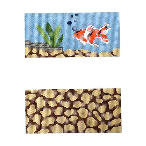 Goldfish Eyeglass Case Painted Canvas J. Child Designs