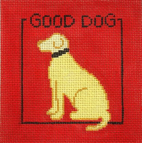 Good Dog Painted Canvas CBK Needlepoint Collections