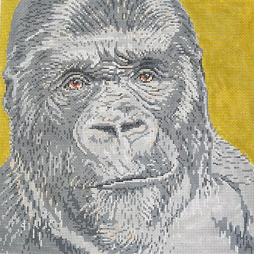 Gorilla Painted Canvas The Meredith Collection