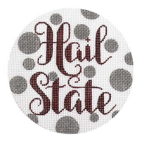 Hail State Painted Canvas A Poore Girl Paints
