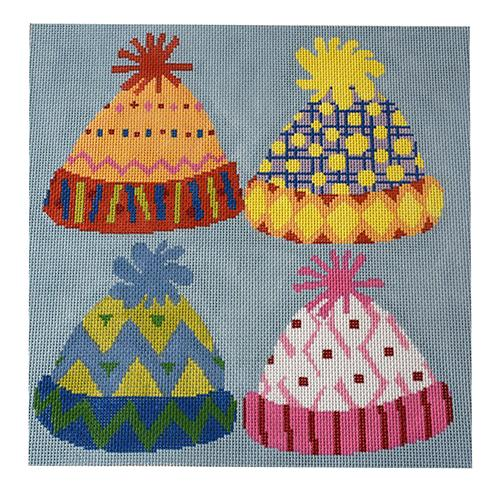 Hats On! Painted Canvas The Meredith Collection