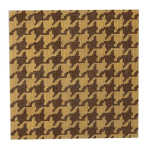 Herringbone Tan Insert (C&C) Painted Canvas Kate Dickerson Needlepoint Collections