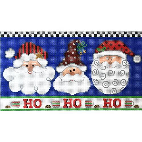 Ho Ho Ho Painted Canvas The Meredith Collection