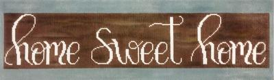 Home Sweet Home Painted Canvas Alice Peterson