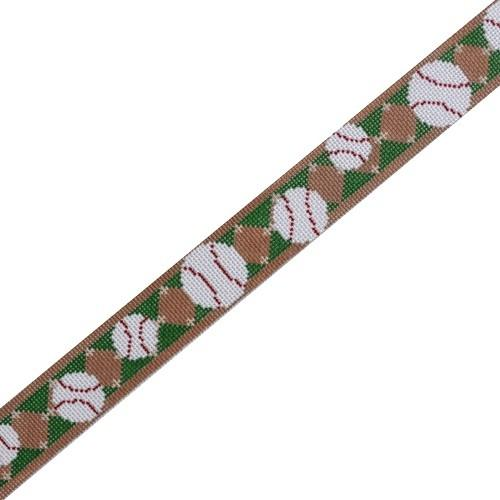 Homerun Belt Painted Canvas The Meredith Collection