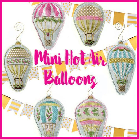 Hot Air Balloon Club Online Course Needlepoint.Com