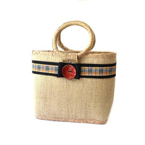 HSN Natural Woven Tote - Large Accessories HSN Designs
