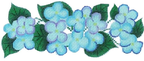 Hydrangeas Painted Canvas Kate Dickerson Needlepoint Collections