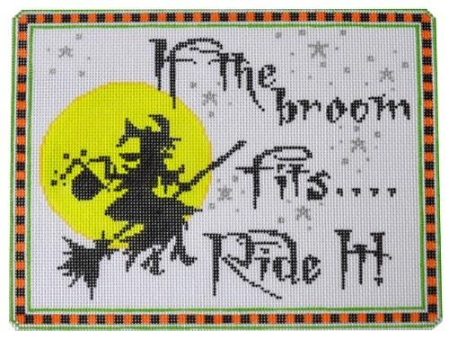 If the Broom Fits Painted Canvas The Meredith Collection