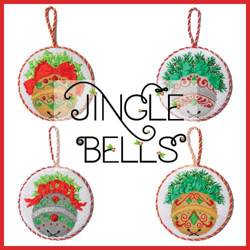 Jingle Bells Online Needlepoint Class Online Course Needlepoint.Com