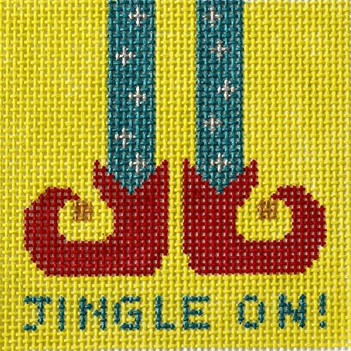 Jingle On! Painted Canvas Vallerie Needlepoint Gallery
