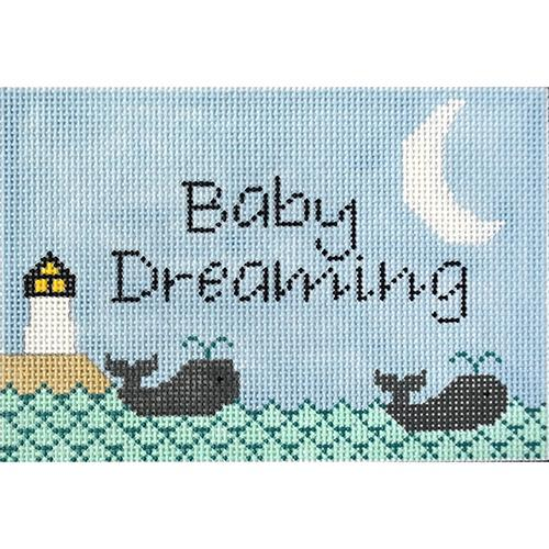 Lighthouse Baby Dreaming Painted Canvas J. Child Designs