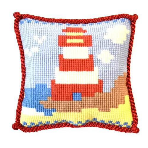 Lighthouse Needlepoint Kit Kits Elizabeth Bradley Design