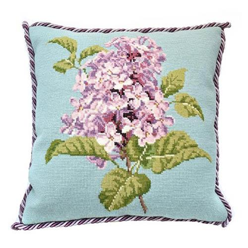 Lilac Needlepoint Kit Kits Elizabeth Bradley Design