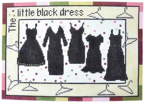 Little Black Dress Stitch Guide Stitch Guides/Charts Pippin