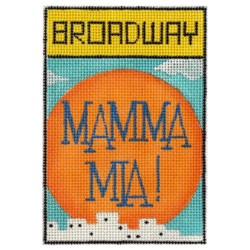Mamma Mia! Painted Canvas Raymond Crawford Designs