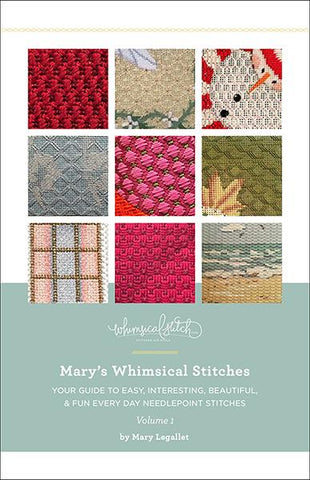 Mary's Whimsical Stitches Painted Canvas Whimsical Stitch
