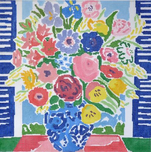 Matisse's Table #3 Painted Canvas Jean Smith