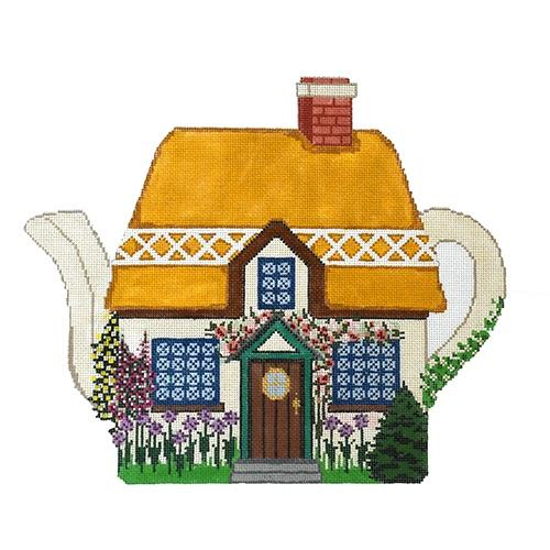 Mouse House Cottage Painted Canvas The Meredith Collection