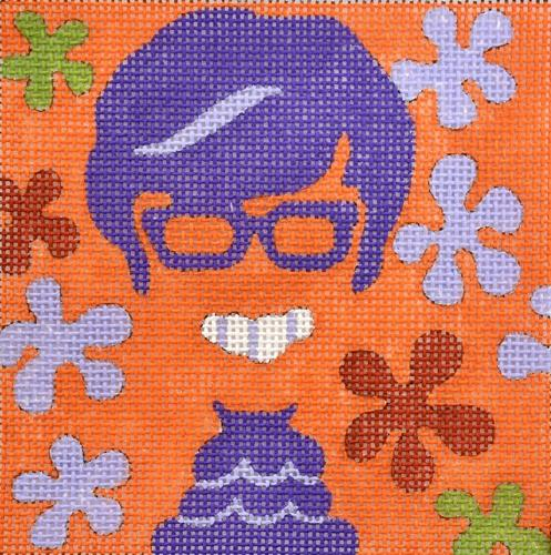 Movie Coaster - Austin Powers Painted Canvas Melissa Prince Designs