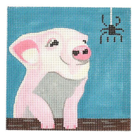 Movie Coaster - Charlotte's Web Painted Canvas Melissa Prince Designs