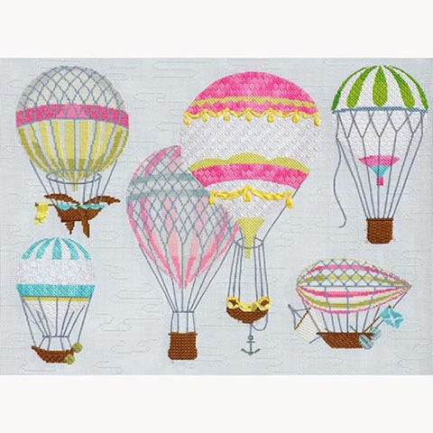 Multi Pink Hot Air Balloons Kit Kits Kirk & Bradley
