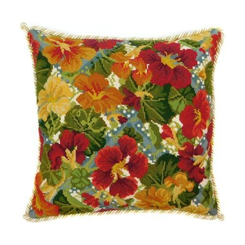 Nasturtium Needlepoint Kit Kits Elizabeth Bradley Design