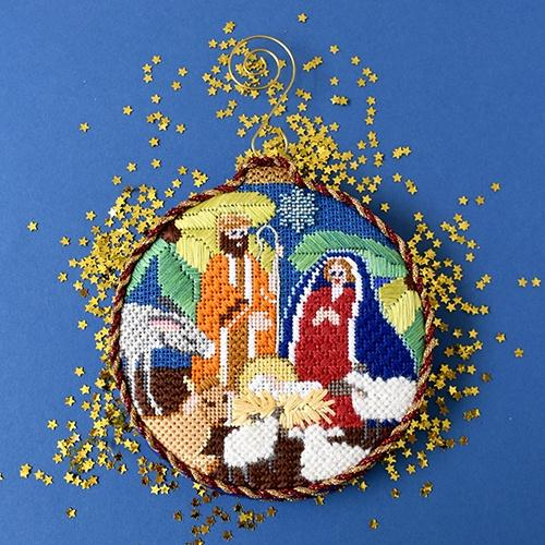 Nativity Ornament Kit & Online Class Online Classes Kirk & Bradley