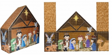 Nativity Painted Canvas CBK Needlepoint Collections