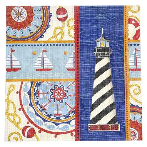Nautical Suzani Collage 4 Painted Canvas All About Stitching/The Collection Design