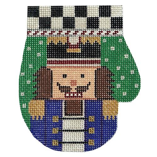 Nutcracker Mitten Painted Canvas The Meredith Collection