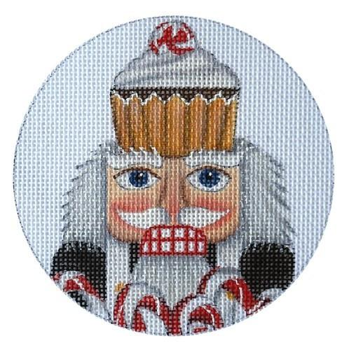 Nutcracker Ornaments- Cook Painted Canvas Mary Lake Thompson