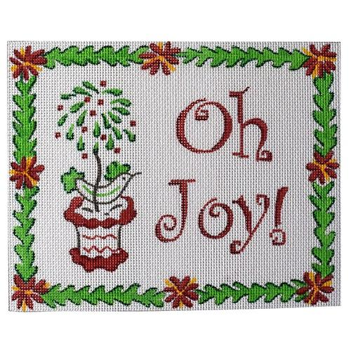 Oh Joy! Painted Canvas Kate Dickerson Needlepoint Collections
