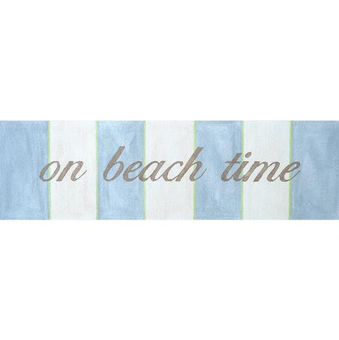 On Beach Time Painted Canvas & More