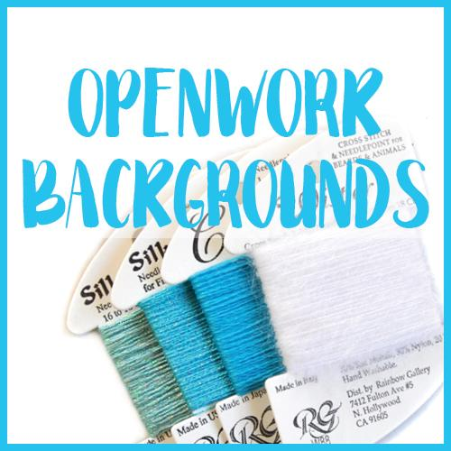 Openwork Backgrounds Class Online Course Needlepoint.Com