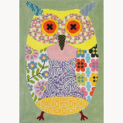 Oscar the Owl on 13 Painted Canvas Kirk & Bradley