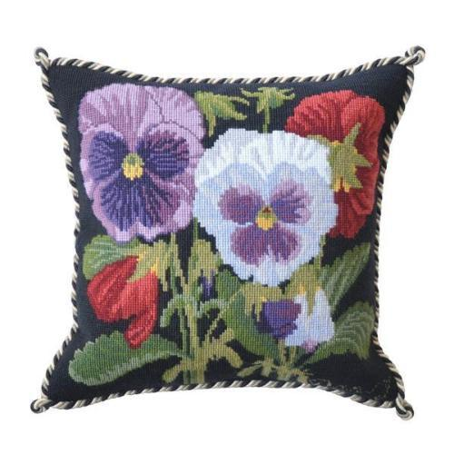 Pansy Needlepoint Kit Kits Elizabeth Bradley Design