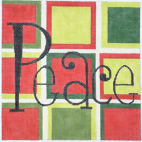 Peace Painted Canvas Raymond Crawford Designs