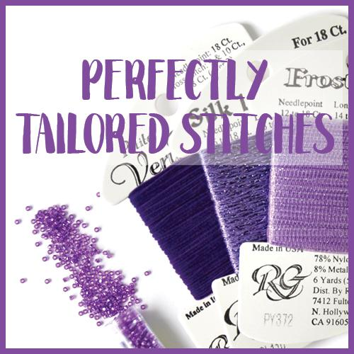 Perfectly Tailored Needlepoint Stitches Online Course Needlepoint.Com
