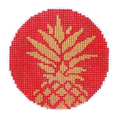 Pineapple Stencil / Red 3