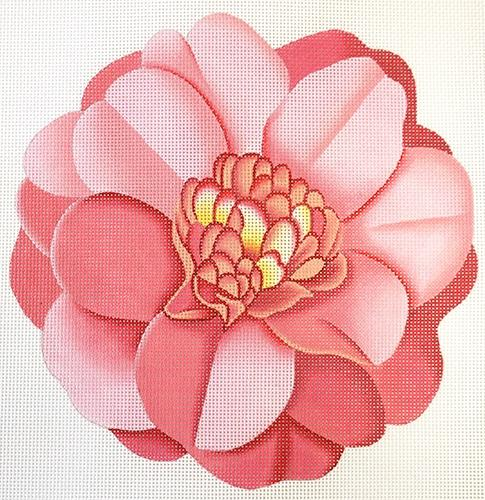 Pink Flower (C&C) Painted Canvas Melissa Shirley Designs