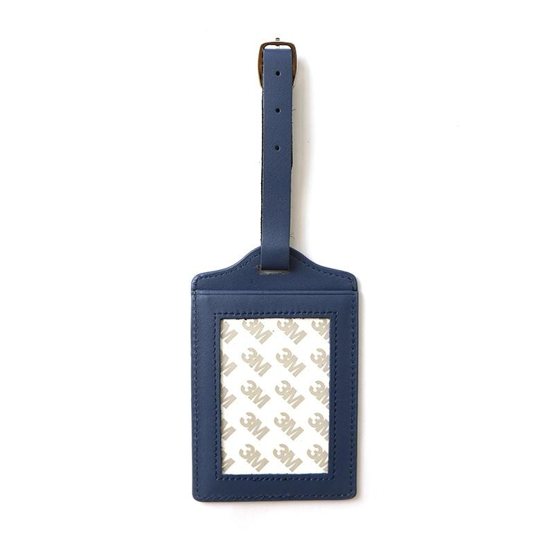 Planet Earth - Leather Luggage Tags - Blue Leather Goods Planet Earth Leather