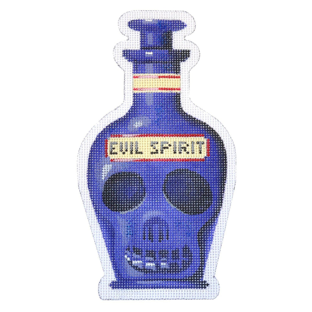 Poison Bottle - Evil Spirit Painted Canvas Kirk & Bradley