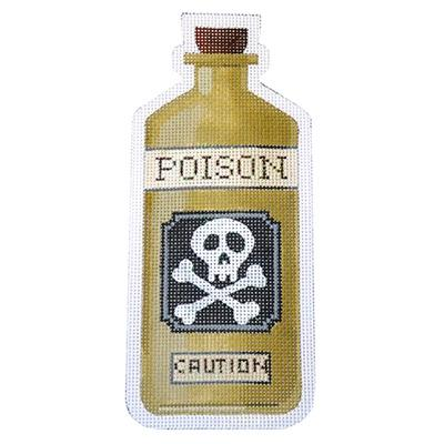 Poison Bottle - Poison on 18 Painted Canvas Kirk & Bradley