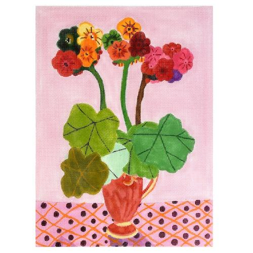 Posies Painted Canvas Kate Dickerson Needlepoint Collections