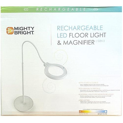 Rechargeable LED Floor Light & Magnifier (Gen.2) Accessories Mighty Bright