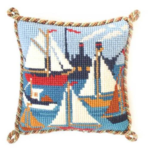 Regatta Needlepoint Kit Kits Elizabeth Bradley Design